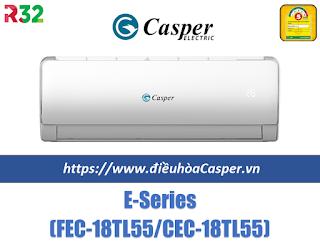 Điều hòa Casper 18000 BTU Gas 32 FEC-18TL55 / CEC-18TL55
