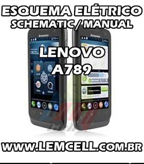Esquema Elétrico Smartphone Celular Lenovo A789 Service Manual schematic Diagram Cell Phone Smartphone Lenovo A789 Esquematico Smartphone Celular Lenovo A789