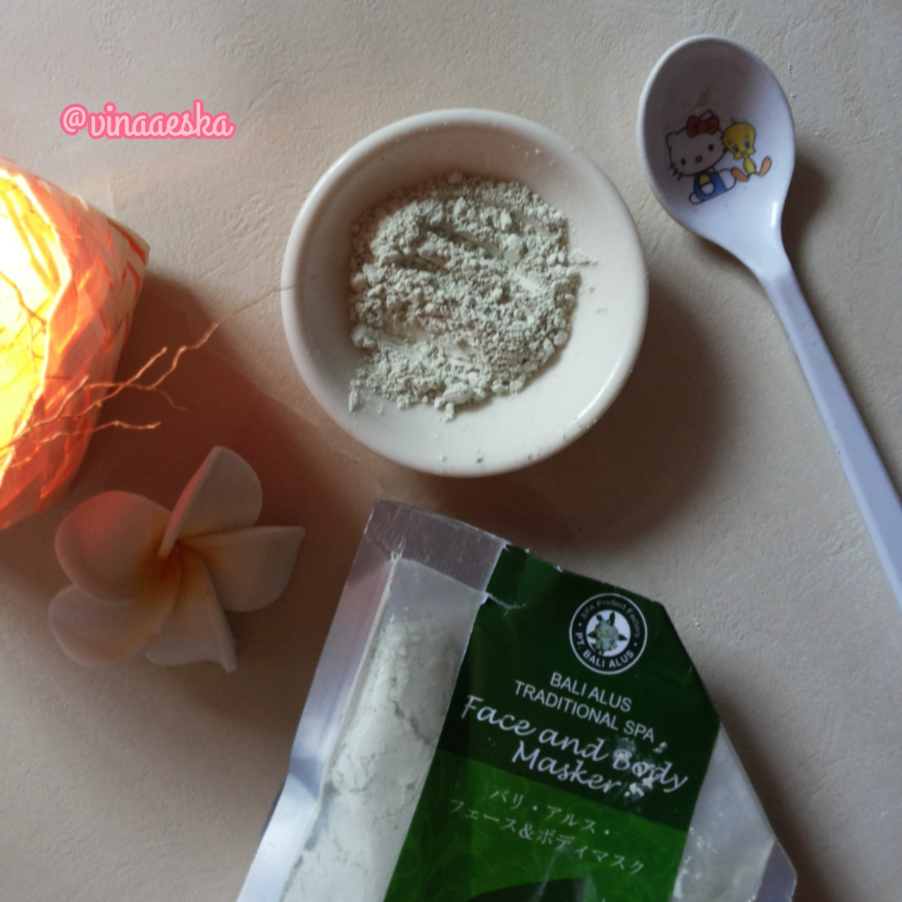 Review Bali Alus Face And Body Masker Green Tea Vina Says Beauty Buy 1 Get Lulur Srub