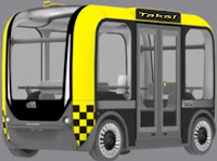 Şoförsüz otobüs Olli trafiğe çıktı