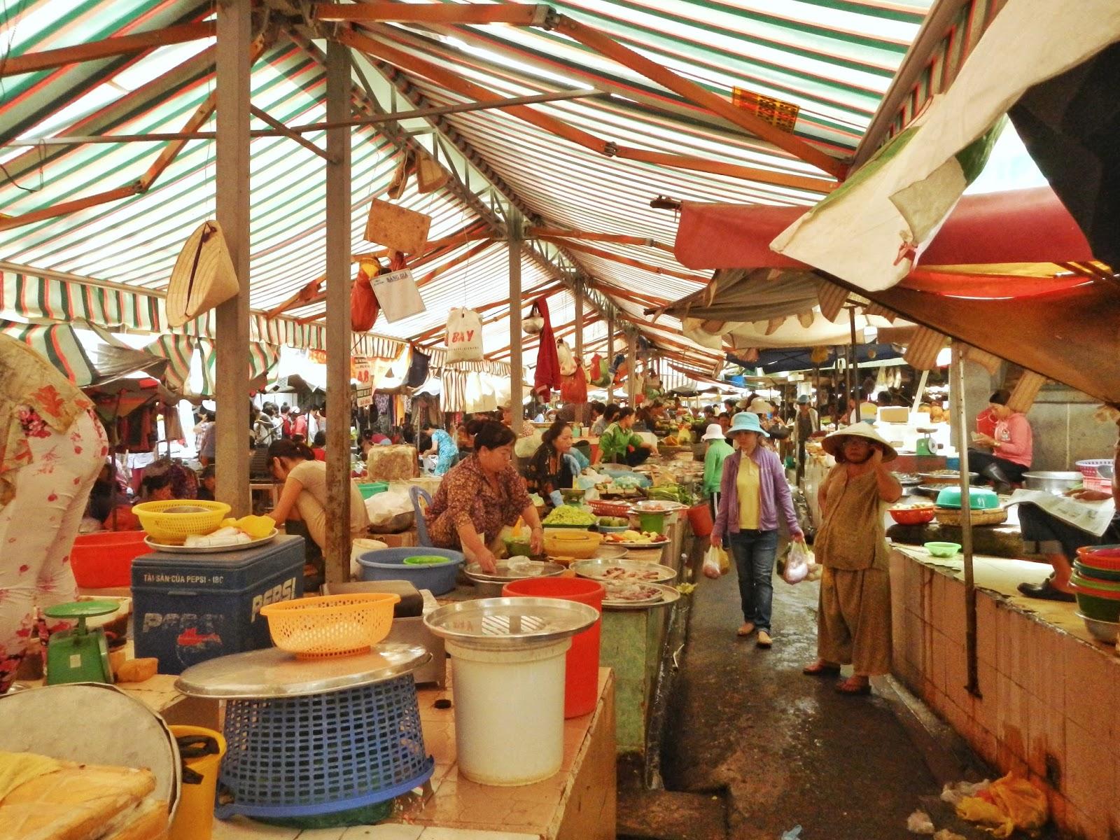 Pasar di Vietnam