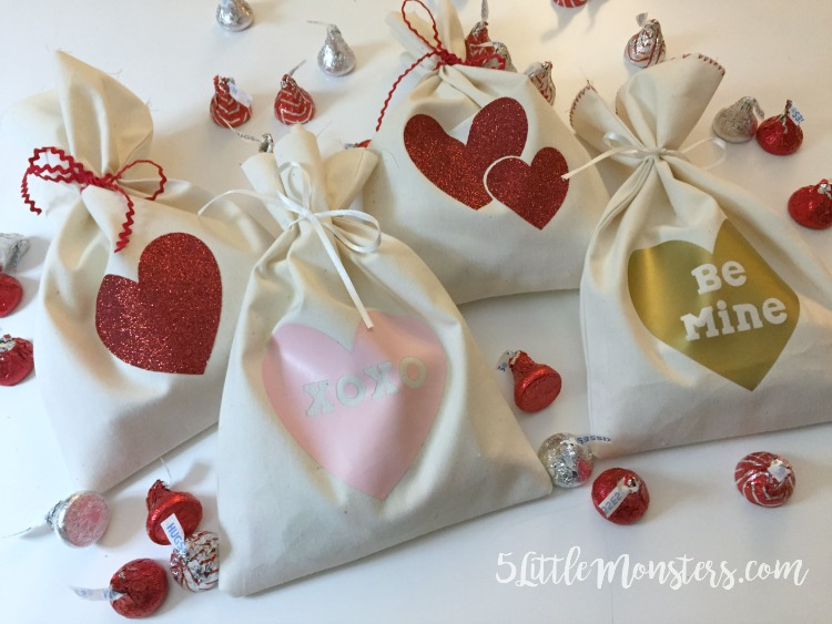 Beading Favor Bags Valentine Gift Bags Wool Felt Valentine Greetings Party Supplies Gift Bags Bags