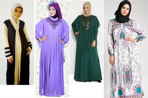 Kumpulan Foto Baju Muslim Untuk Orang Gemuk Agar Terlihat Langsing
