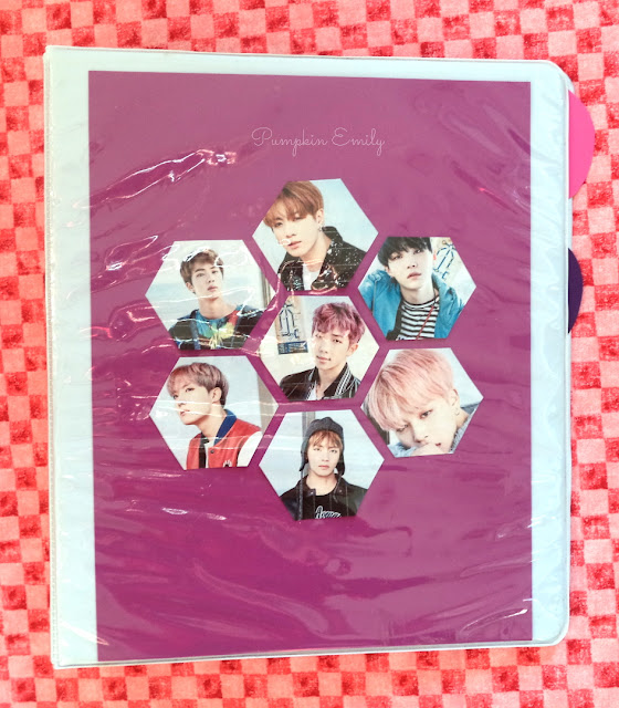 DIY Hexagon Styled BTS Binder Cover