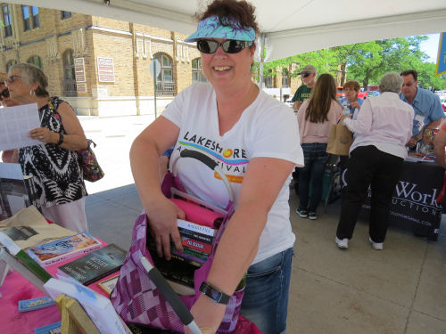 Lakeshore Art Fair Muskegon Michigan Authors