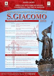 SECOLARE PROCESSIONE VARA ARGENTEA DI SAN GIACOMO APOSTOLO