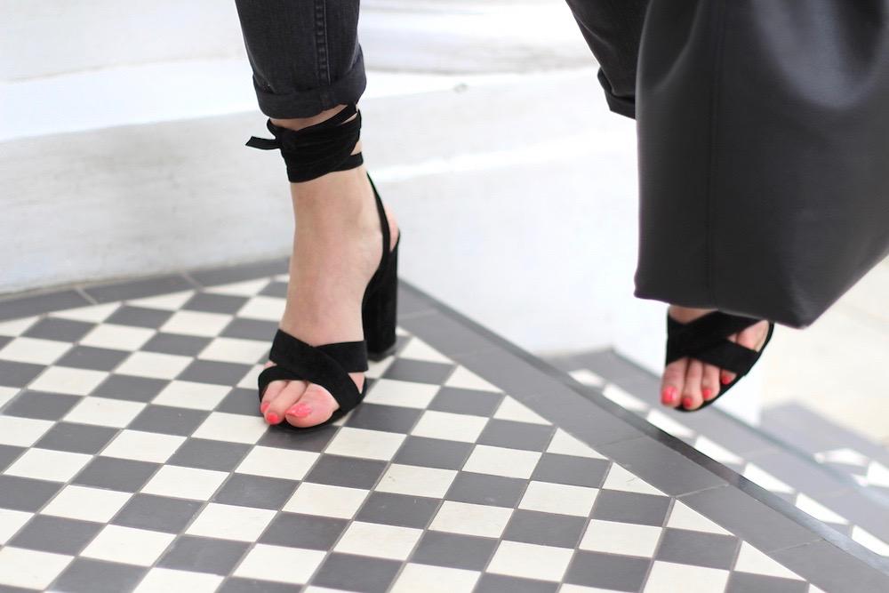 strappy heels peexo ego