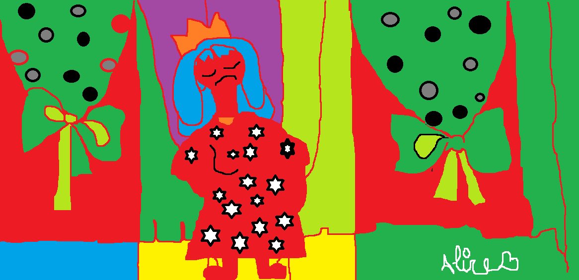 Desenho, colorido,marionete