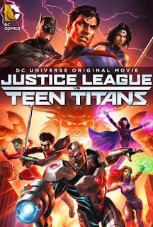 La Liga de la Justicia contra los Jóvenes Titanes (2016) Online