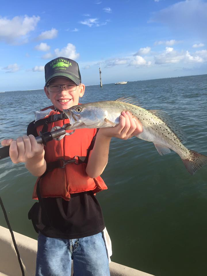 Ron 39 s rockport fishing reports family fishing time for Rockport texas fishing report