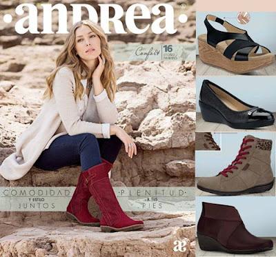 Zapato Confortable Andrea 2016 Otoño Invierno