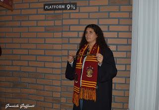 20 años de Harry Potter. Embajada Británica. Uruguay.