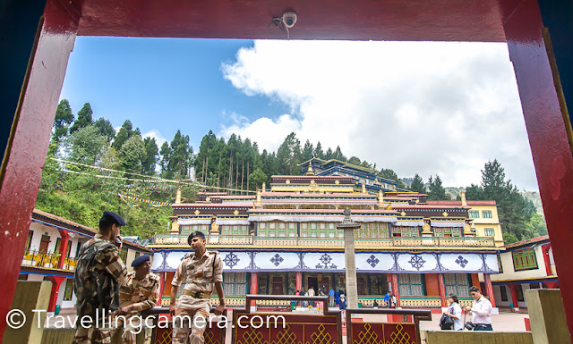 If you plan to go to Gangtok, do visit Rumtek. You may want to plan half a day for travelling to this Monastery and back, but if you are interested in Tibetan architecture and the lifestyle of the monks, this trip will be worth it.