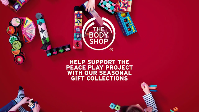 The Bodyshop Christmas Collection and Play For Peace Project