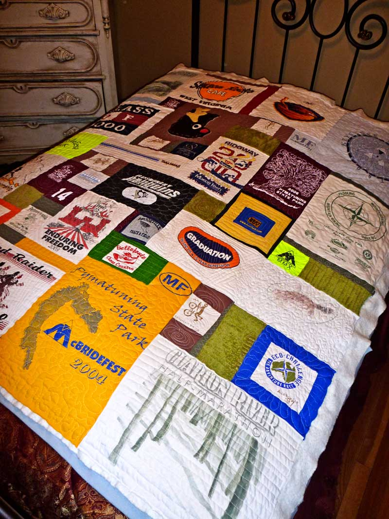 T Shirt Quilt Instructions Step Step