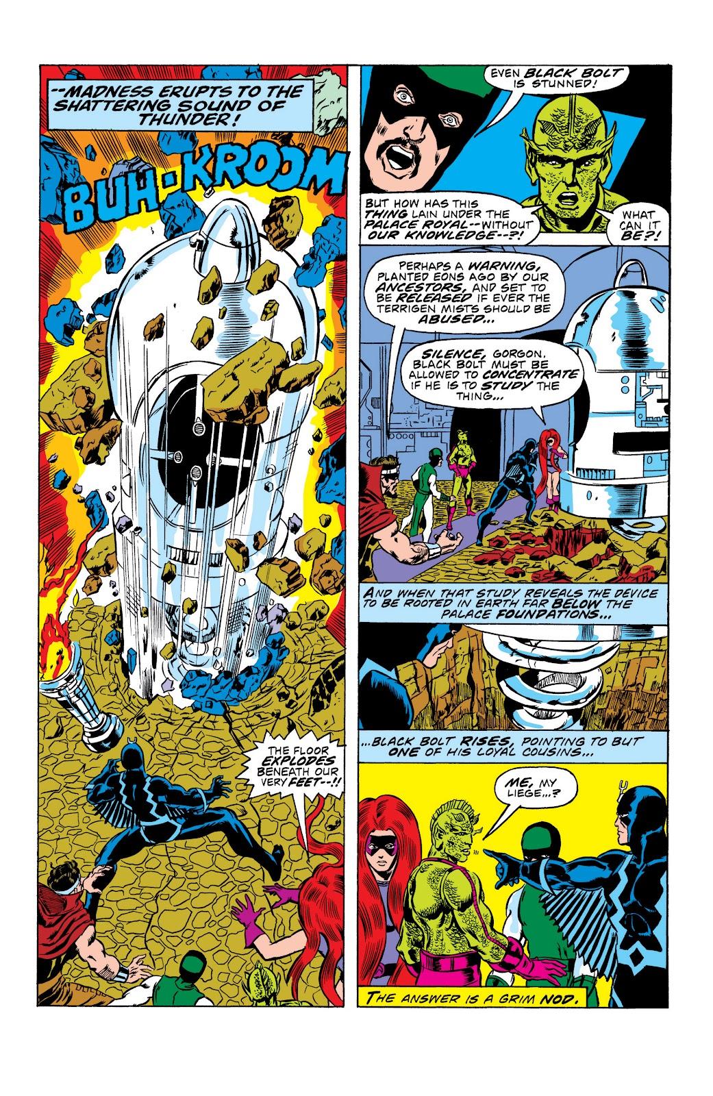 Read online Marvel Masterworks: The Inhumans comic -  Issue # TPB 2 (Part 1) - 19