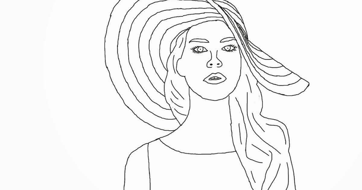 Ashley's Digital Art Blog: Celebrity Coloring Book Page