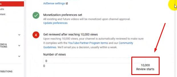 Menghasilkan Uang Dengan Youtube Mengkaitkannya ke AdSense 2019 iv