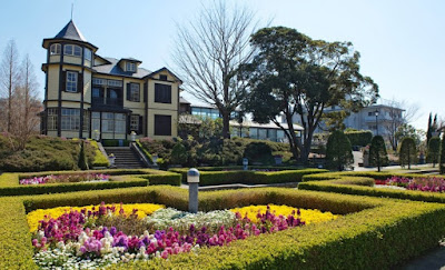 Taman Italia ala Yamate Italian Garden Yokohama Jepang