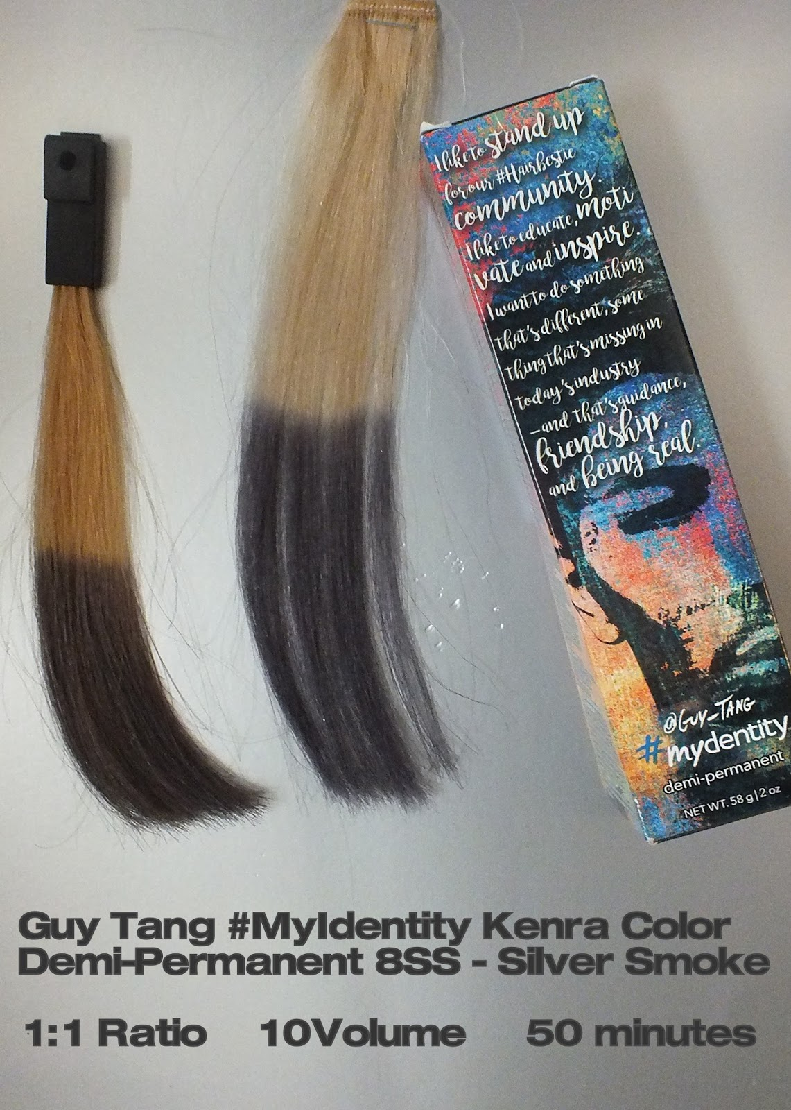 The New Kenra Hair Colors Amber Rose Dusty Lavender Silver
