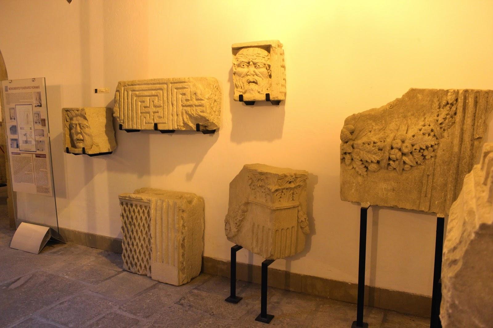 Restos romanos en el Museo Arqueológico de Úbeda