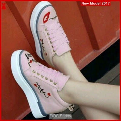 FIDS019 Sepatu Wanita Jk01 Pink Yang Lagi Trend BMG