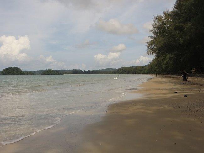 Фотография берега аонанг Краби