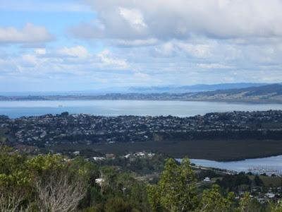 Whangarei desde el monte Parihaka, Nueva Zelanda