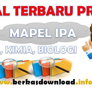 Soal Pretes UKG GPO Mapel IPA ( Fisikia, Kimia dan Biologi ) Terbaru