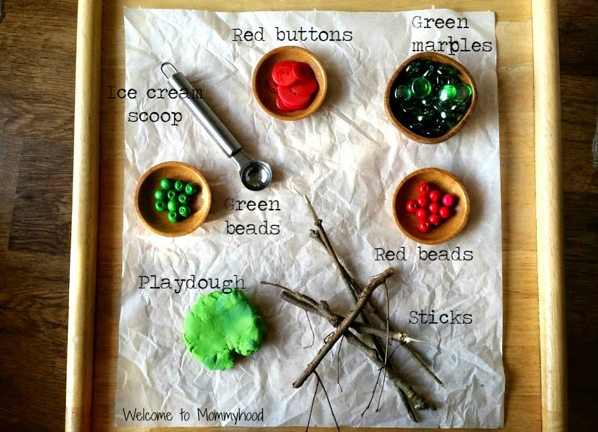 Christmas activities for kids: invation to Christmas playdough #ChristmasActivitiesforKids, #toddleractivities