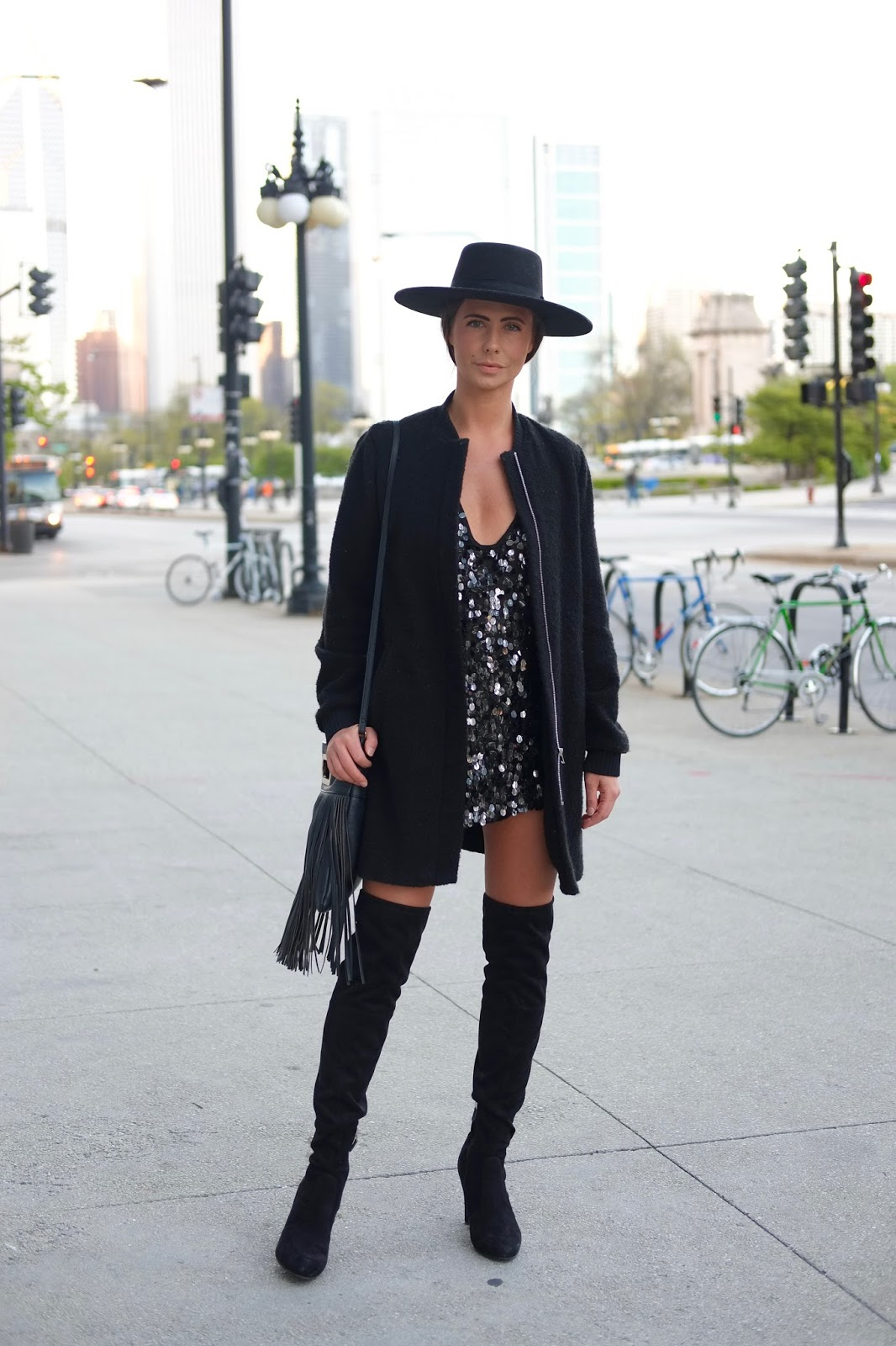 Jessica chicago looks a chicago street style fashion blog Grace fashion style chicago