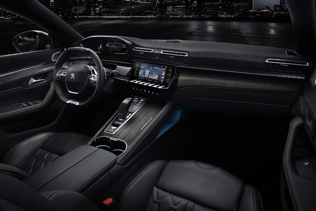 Novo Peugeot 508 2019