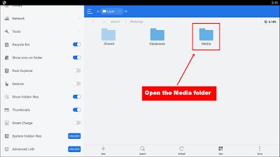 ES File Explorer - Media