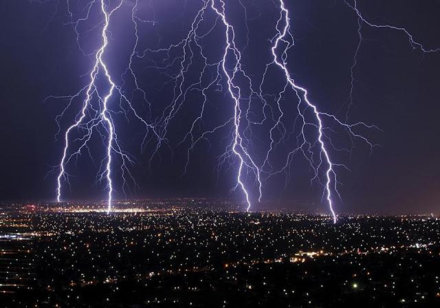 Fierce tropical storms across Bangladesh on Thursday  Lightning-strikes-across-adelaide-data