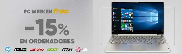 Mejores ofertas promoción PC Week de Fnac.es