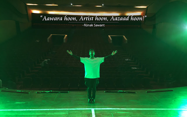 Cover Photo: आवारा हूँ, आर्टिस्ट हूँ, आज़ाद हूँ! (Aawara hoon, Artist hoon, Aazaad hoon!) - Ronak Sawant
