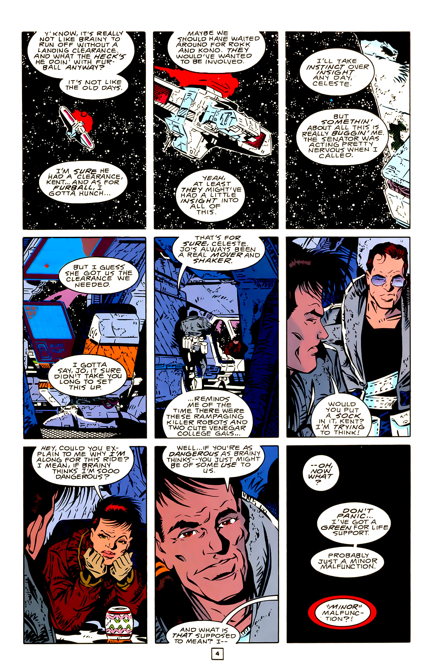 Legion of Super-Heroes (1989) 22 Page 4