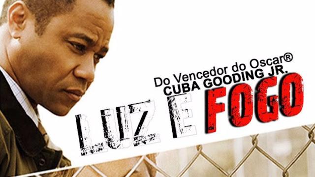 Rosto do Ator Cuba Gooding Jr... Filme Luz de Fogo