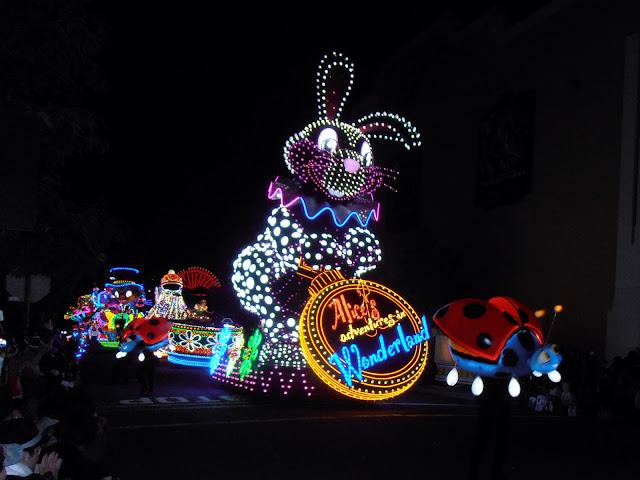 Desfile fin de fiesta en Universal Studios Japan