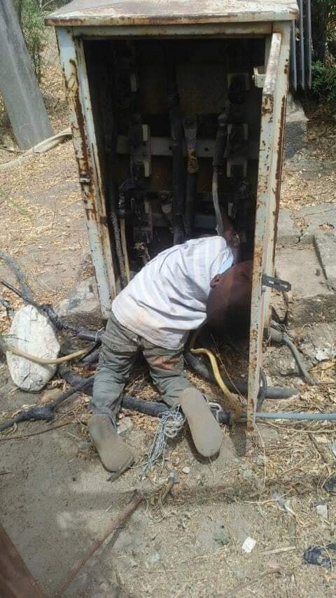 Photos Of Little Boy Electrocuted After Walking Into An Open Transformer