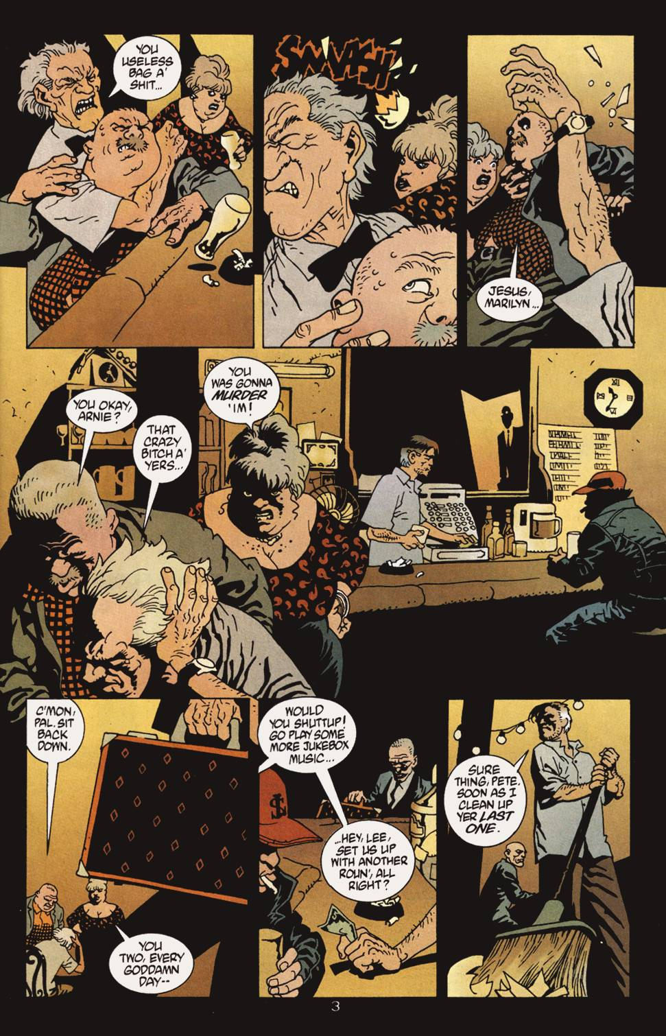 Read online 100 Bullets comic -  Issue #4 - 4