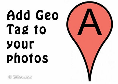 Add GPS tag to photos