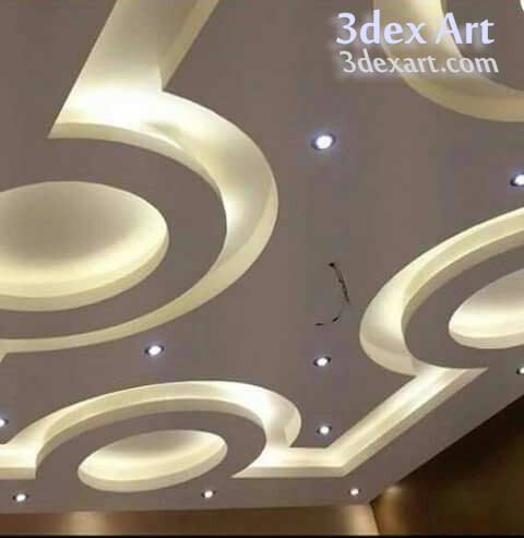 New false ceiling designs ideas for bedroom 2019 with led for Ceiling light design