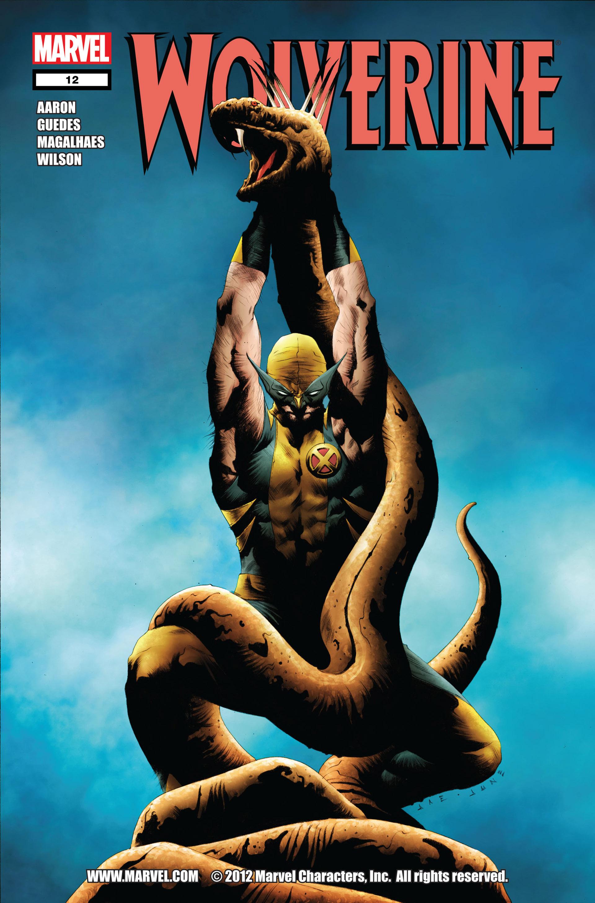 Wolverine (2010) 12 Page 1