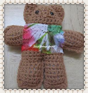 crochet teddy bear, crochet free stuff toy pattern, amigurumi