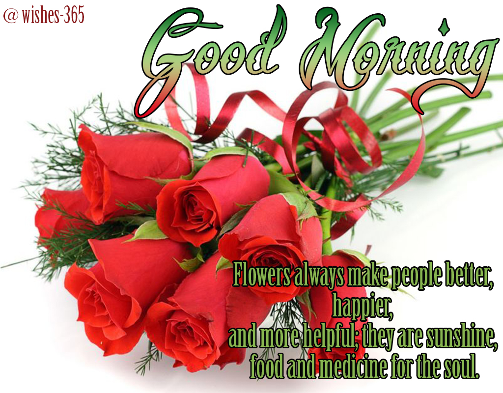 Poetry And Worldwide Wishes Good Morning Wishes With Flowers Images