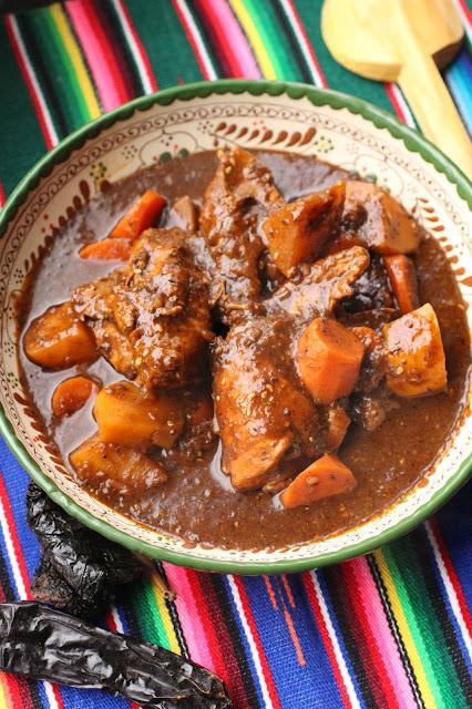 poulet sauce noire