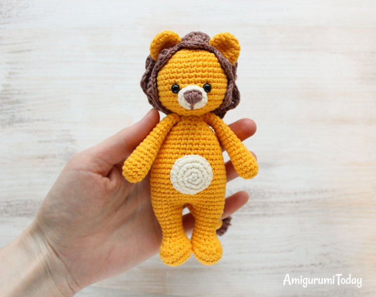 Free Amigurumi Lion Pattern : Amigurumi cuddle me lion free pattern amigurumi free patterns