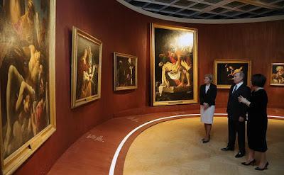 Vladimir Putin, State Tretyakov Gallery.