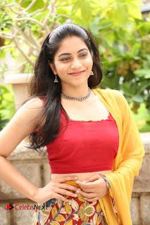 Actress Punarnavi Bhupalam Pictures at Yentha Pani Chesave Sireesha Movie Logo Launch  0088.JPG